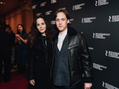 Mary-Louise Parker, who starred in Roundabout Theater Company's The Sound Inside earlier this season (and will star in MTC's upcoming Broadway revival of How I Learned to Drive), with son William Parker.