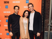 Michael Hsu Rosen, Roxanna Hope Radja and Ward Horton; they starred alongside Michael Urie in Second Stage Theater's 2018 revival of Torch Song.