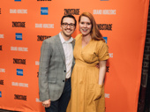 Second Stage alum Will Roland poses with his fiancé Stephanie Wessels.