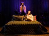 Joél Pérez as Bob and Jennifer Damiano as Carol in Bob & Carol & Ted & Alice.