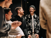 The Inheritance is known to make audiences cry but in between the dramatic moments, Carson McCalley, Samuel H. Levine, Kyle Soller and Kyle Harris take time to have a laugh.