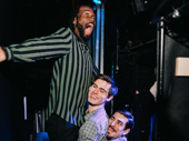 Darryl Gene Daughtry Jr, Carson McCalley and Arturo Luís Soria make sure their friendship is as strong backstage as it is on stage.