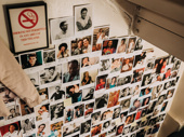 Backstage at the Barrymore Theatre, there is a wall that contains faces of various artists (actors, painters, dancers) that have died of AIDS. Among them is a photo of composer Michael Friedman.