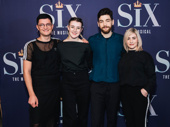 Six creator Toby Marlow, creator and co-director Lucy Moss, co-director Jamie Armitage and choreographer Carrie-Anne Ingrouille.