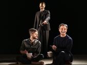 Kyle Soller, Paul Hilton and Tony Goldwyn in The Inheritance.