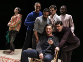 The cast of in The Inheritance.
