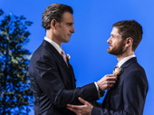 Tony Goldwyn and Kyle Soller in The Inheritance.