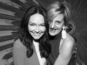 Katrina Lenk and director Marianne Elliott.