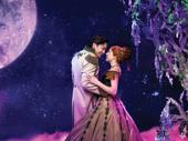 Ryan McCartan as Hans and McKenzie Kurtz as Anna in Frozen.