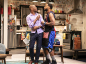 Korey Jackson as Dwayne and Toussaint Jeanlouis as Cordell in The Hot Wing King.