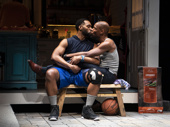 Toussaint Jeanlouis as Cordell and Korey Jackson as Dwayne in The Hot Wing King.