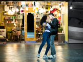 Shereen Pimentel as Maria and Isaac Powell as Tony in West Side Story.