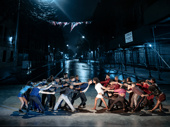 The cast of West Side Story.