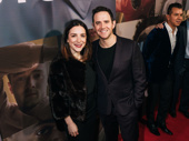Tony-winning actor Santino Fontana and his wife, actor Jessica Hershberg.