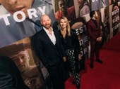 Actor Corey Stoll and his wife, actor Nadia Bowers.