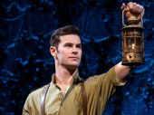 Sam Gravitte as Fiyero in Wicked.