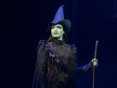 Lindsay Pearce as Elphaba in Wicked.