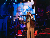Dot Marie Jones as Dennis in Rock of Ages.