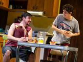 Bobby Moreno as Christian and Tyler Alvarez as Aaron in 72 Miles To Go.