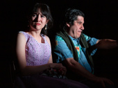Jacqueline Guillen as Eva and Triney Sandoval as Billy in 72 Miles To Go.