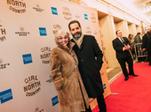 Actor Brook Adams and her husband, Tony-winning actor Tony Shalhoub.