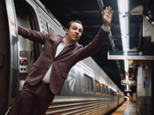 Bon, voyage! Rob McClure is off to New York for Mrs. Doubtfire rehearsal.