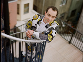 Why Rob McClure lives in Philly: because his apartment comes with a sweet roof deck.