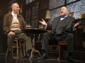 Ewen Bremner as Syd and Mark Addy as Harry in Hangmen.