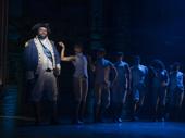 Tamar Greene as George Washington in Hamilton.