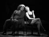 Lillias White as Matron Mama Morton and Bianca Marroquín as Velma in Chicago.
