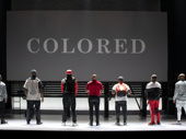 The cast of Thoughts of a Colored Man.