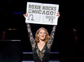 Dylis Croman as Roxie in Chicago.