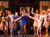 Alan Mingo Jr. as Lola and the cast of Kinky Boots.