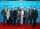 The dashing gents of Holiday Inn hit the red carpet.