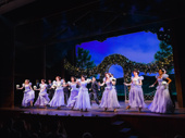 Say it with flowers! Holiday Inn's enchanting ensemble ladies take a bow.