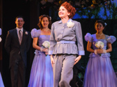 Holiday Inn scene-stealer Megan Lawrence steps out for her curtain call.