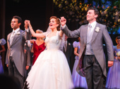 Happy opening to Holiday Inn's Corbin Bleu, Lora Lee Gayer and Bryce Pinkham!
