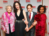 Awww! Mary-Louise Parker's mother Caroline Louise Morelli Parker and children William Atticus Crudup and Caroline Aberash Parker snap a sweet photo.