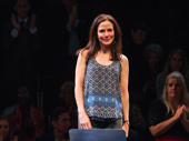 Heisenberg star Mary-Louise Parker takes an emotional curtain call.