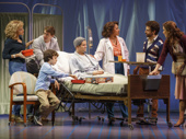 The cast of Falsettos.