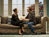 Zoe Kazan as Rose and Ben Rosenfield as Jamie in Love, Love, Love.