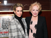 Power couple! Sarah Paulson and Holland Taylor snap a sweet pic.
