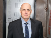 Stage and Transparent fave Jeffrey Tambor steps out.