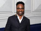Billy Porter knows how to make headlines! The Tony winner attends the Broadway opening of The Front Page.
