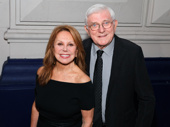 Emmy winner Marlo Thomas and her husband, talk show host extraordinaire, Phil Donahue, pose for a pic.