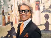 Broadway legend Tommy Tune strikes a pose.