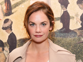 Awww! Jake Gyllenhaal's former Constellations co-star Ruth Wilson steps out to support City Center's titular star.