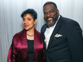 When do we get to have Phylicia Rashad and Phillip Boykin back on Broadway? The two snap a pic at the City Center gala following their Sunday in the Park with George performance.