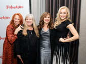 Three Cordelias and a Charlotte: Carolee Carmello, Heather MacRae, Janet Metz and Betsy Wolfe.