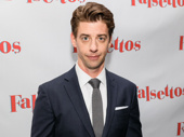 Tony winner Christian Borle rocks the red carpet after a powerful performance as Marvin in the first-ever Broadway revival of Falsettos.